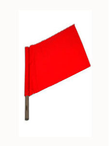 Safety Flag, 24""